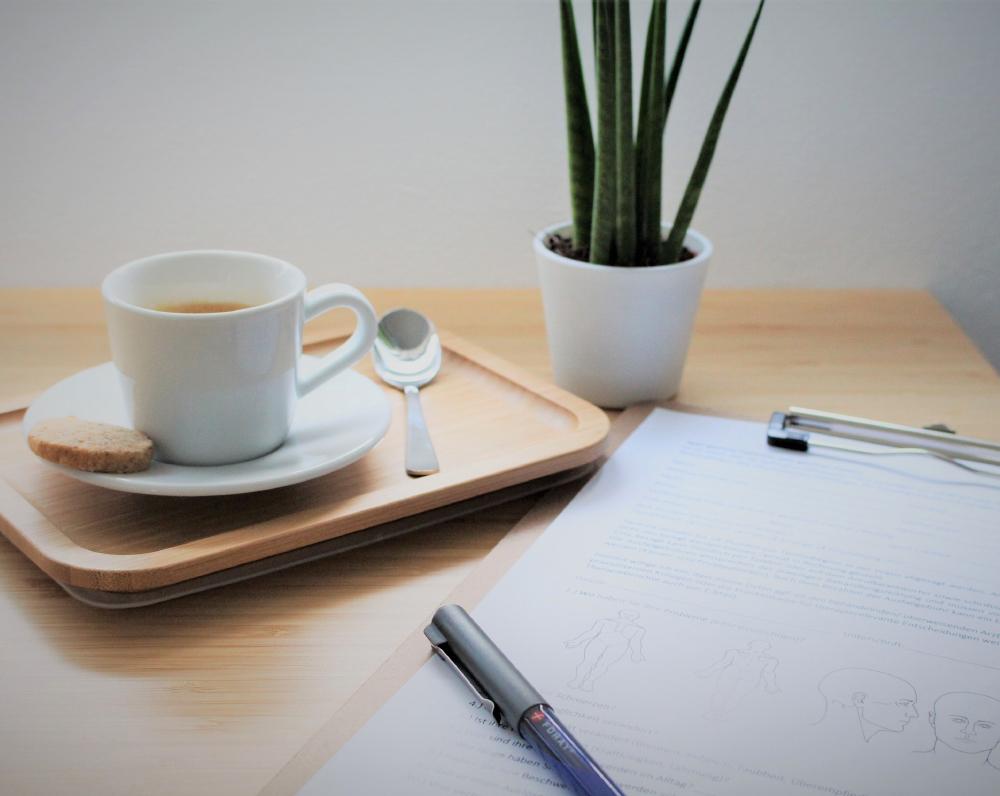Privatpraxis für Physiotherapie in Tamm. Wohlfühlen, Kaffee, Espresso